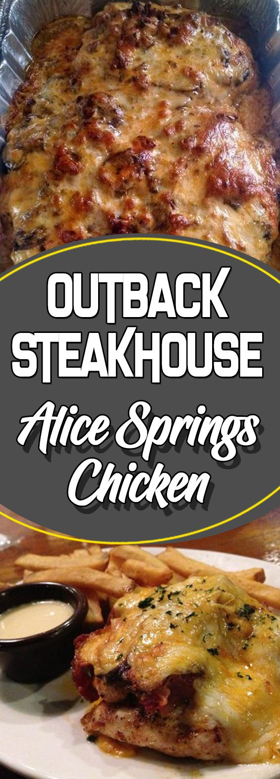 Outback Steakhouse Alice Springs Chicken #chickendinner #slowcooker #chicken  #chickens #chickenrecipes #weightlossrecipes