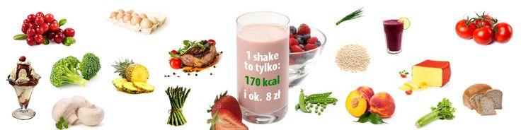 Zdrowy shake to tylko 170 kcal.  Więcej na www.zdrowyshake.eu