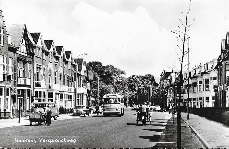 Verspronckweg Haarlem (jaartal: 1950 tot 1960) - Foto's SERC