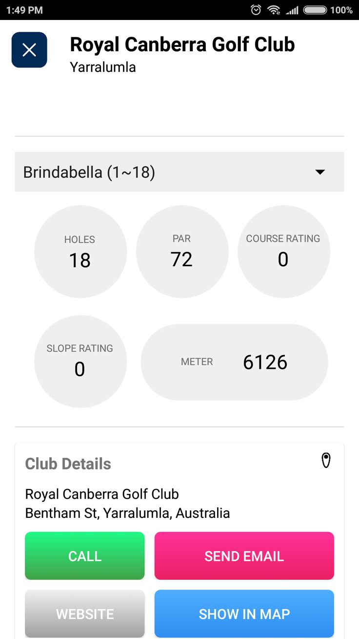 Golf course finder nearby courses course data desire to