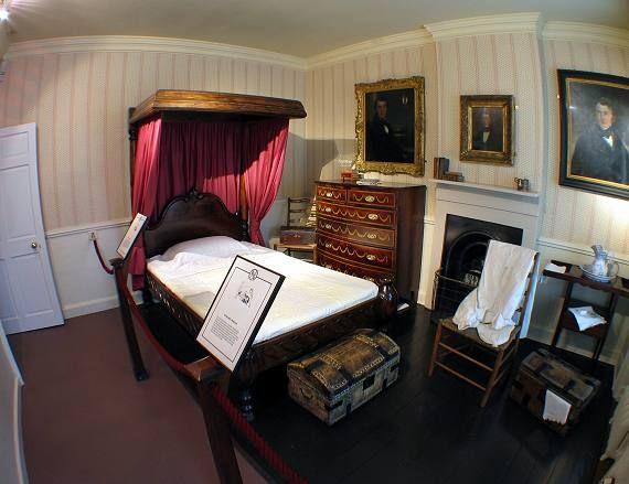 Bronte Parsonage, Haworth - Mr Bronte's Bedroom