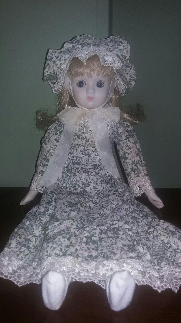 Muñeca bisque antigua