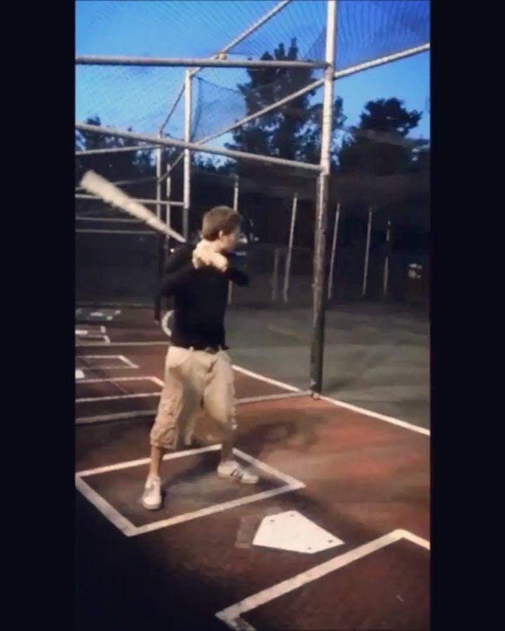 #baseball #battingcage #mlb #ball #bat #batting #cage #outside #video #music #sport #sports #me #art #artsy #effect #app #me