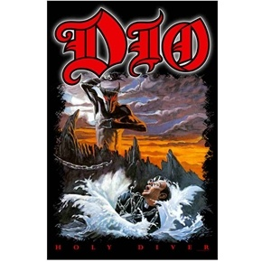 Official premium quality Dio Holy Diver poster flag.