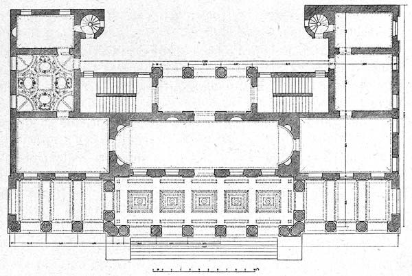 Palazzo Floor Plan For House Builders on construction floor plans, furniture floor plans, restaurants floor plans, hotels floor plans, interior design floor plans, schools floor plans, banks floor plans,