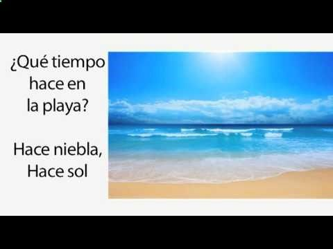 Learn Spanish 1.14 - The Weather and the Verb Hacer (part 1)