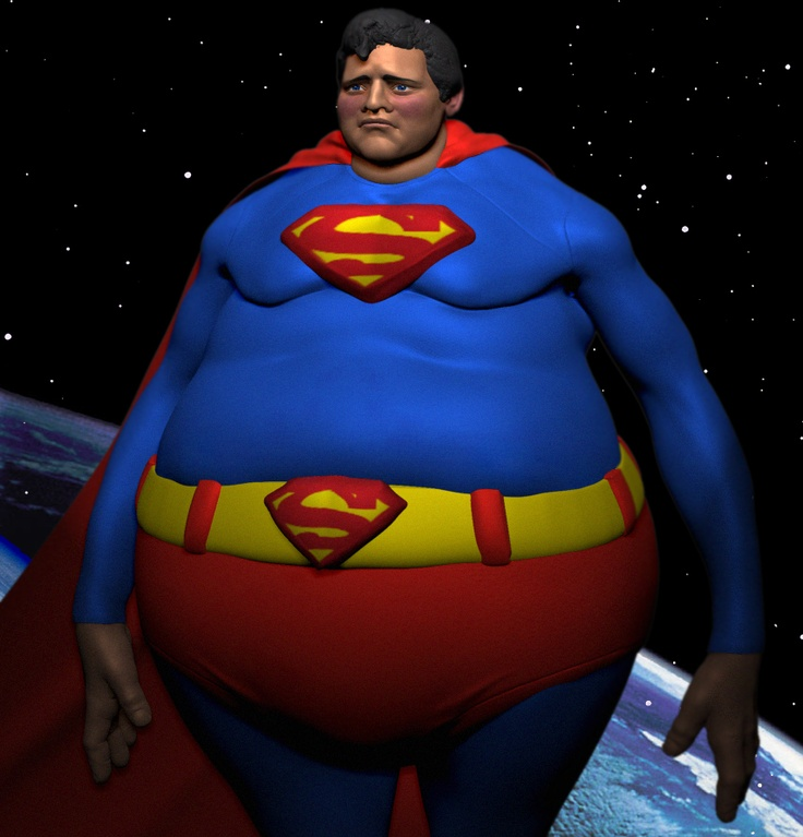Superman Fat 38