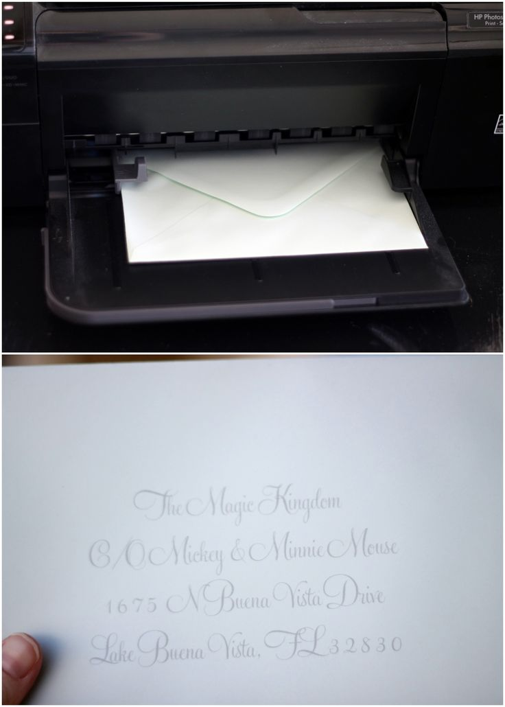 How to faux calligraphy - DIY. Hah, brilliant trick.