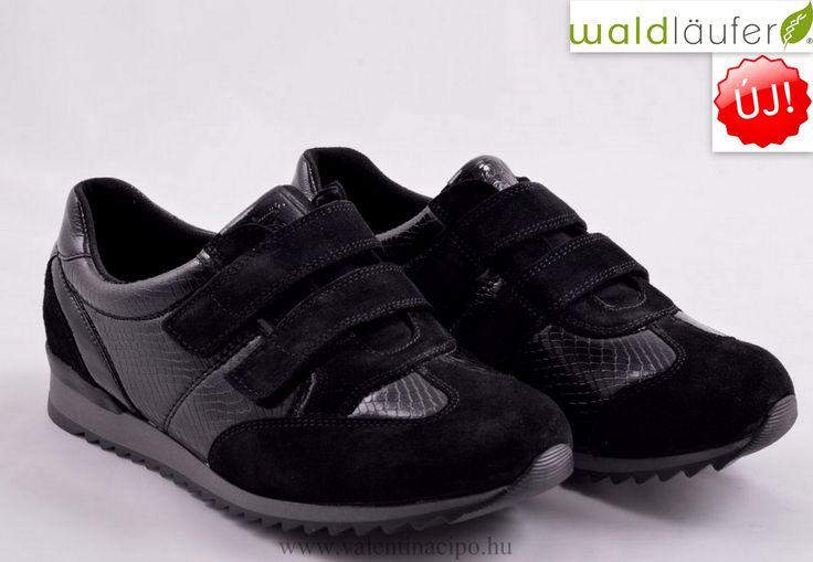 Egy igazán kényelmes Waldlaufer női tépőzáras cipő, a Valentina Cipőboltokban és Webáruházunkban megérkezett!  http://valentinacipo.hu/waldlaufer/noi/fekete/zart-felcipo/141368139  #waldlaufer #waldlaufer_cipő #Valentina_cipőboltok