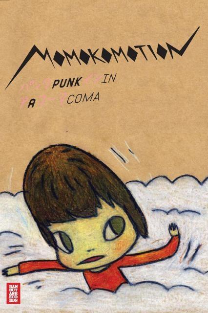 Yoshitomo Nara 2009 Momokomotion - Punk In A Coma〈小丸子手勢 - 迷幻龐克〉[Rambutan RAMCD-0802] #albumcover #奈良美智