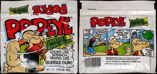 Popeye Bubblegum ;..(