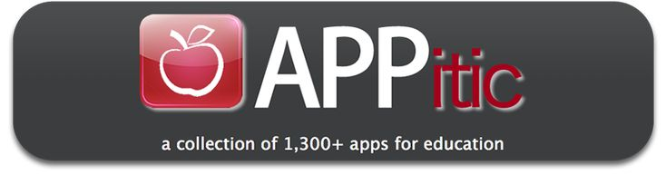 APPitic is an directory of apps for education by Apple Distinguished Educators (ADEs) to help you transform teaching and learning. These apps have been tested in a variety of different grade levels, instructional strategies and classroom settings.
