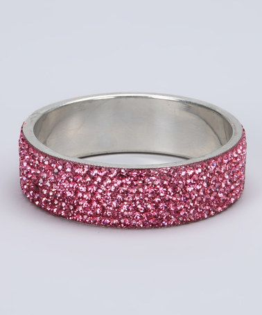 Take a look at this Pink Sparkle Queen Bangle by Pink & Powerful: Accessories & Intimates on #zulily today!