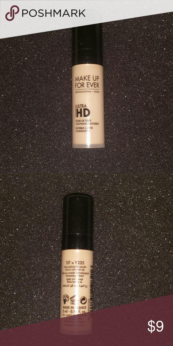 New. Makeup Forever Sample Foundation. Never Used. Make Up For Ever Ultra HD Foundation Deluxe Sample. Made in Paris. 0.016 fl. Oz. Makeup Forever Makeup Foundation