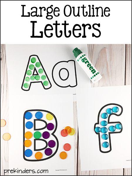 Large Abc Letters Black White: Best 25+ Large Printable Letters Ideas On Pinterest