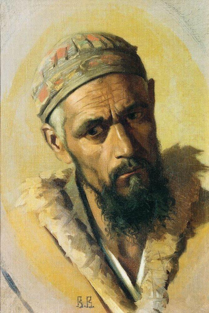 Lully (Gypsy), 1867-1868 Vasily Vereshchagin - by style - Realism