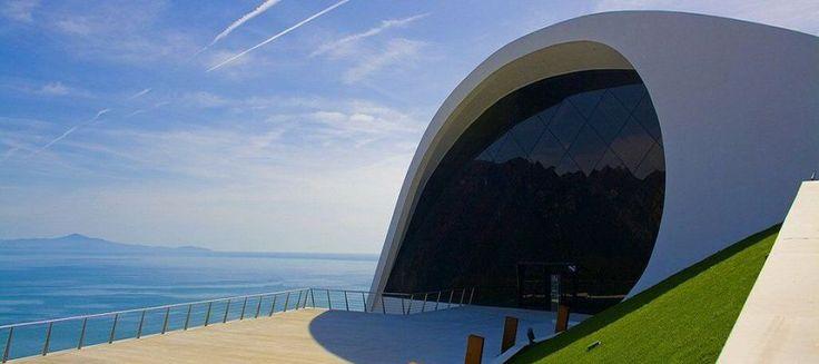 #Auditorium in #Ravello: designed by #OscarNiemeyer