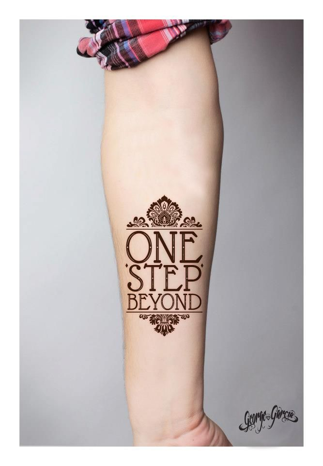 One step!