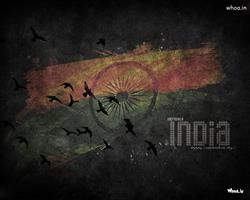 Incredible India Independence Day With Dark Background HD Wallpaper,Greetings HD Wallpaper,Happy Independence Day Hd…