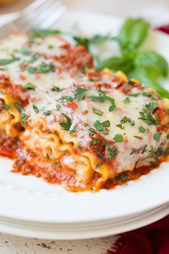 シェアも楽な「ラザニアロール」のレシピアイデア7選 - macaroni