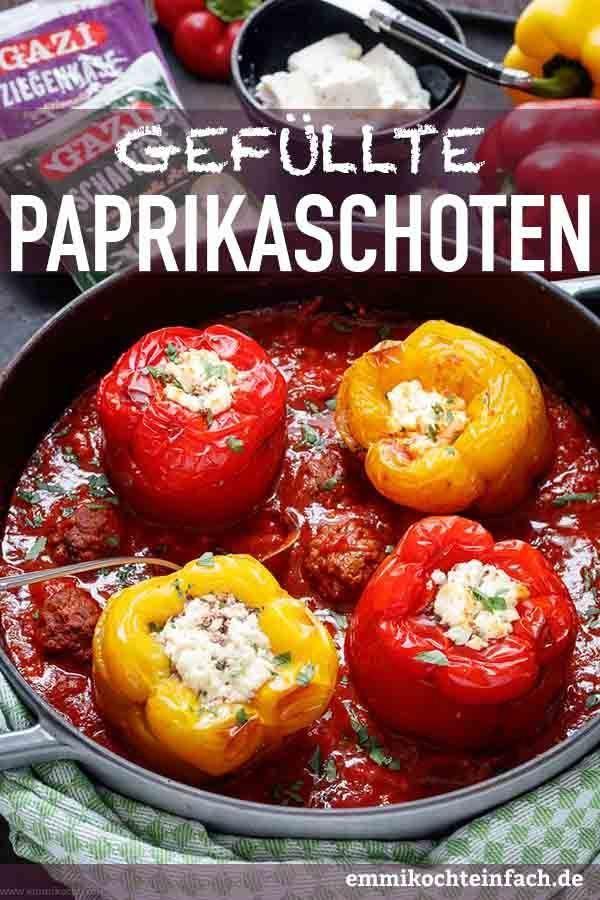 20+ Gefuellte paprika aus dem ofen ideen