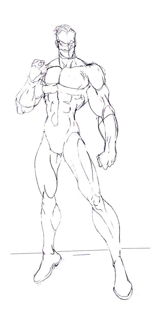 Green Lantern rough Sketch by skywarp-2 on deviantART