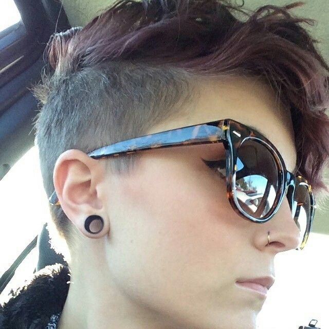 it's official in growing my hair out and getting an undercut