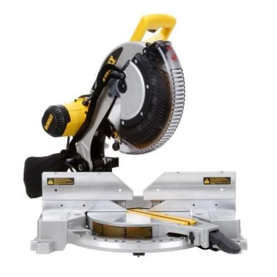 15-Amp 12 in. Double-Bevel Compound Miter Saw