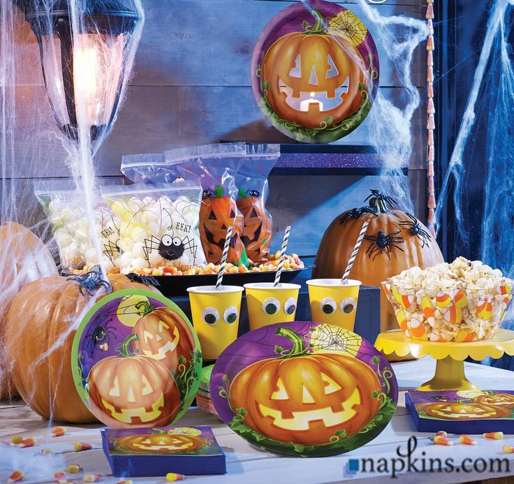 bulk fall and halloween decorations - Halloween Party Supplies