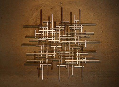 Metal Sculpture Wall Art best 25+ abstract metal wall art ideas on pinterest | metal wall