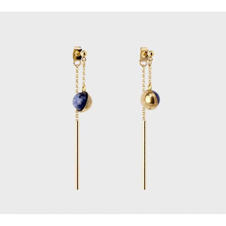 Boucles d'oreilles Mars maxi – Créateur Paris bijoux Medecine Douce – Bijoux fantaisie
