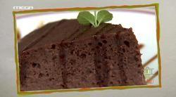 Σοκολατένιο κέικ με γάλα