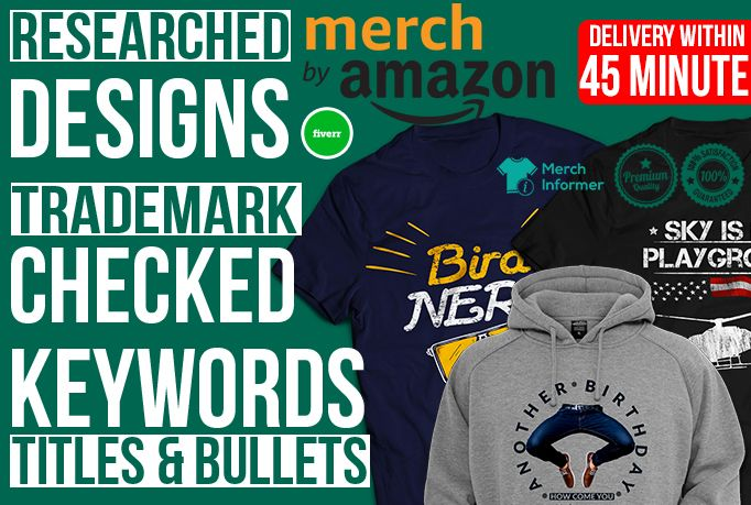 21c5cf0b Create #Merch By #Amazon T Shirt Design With #Keyword Research ...
