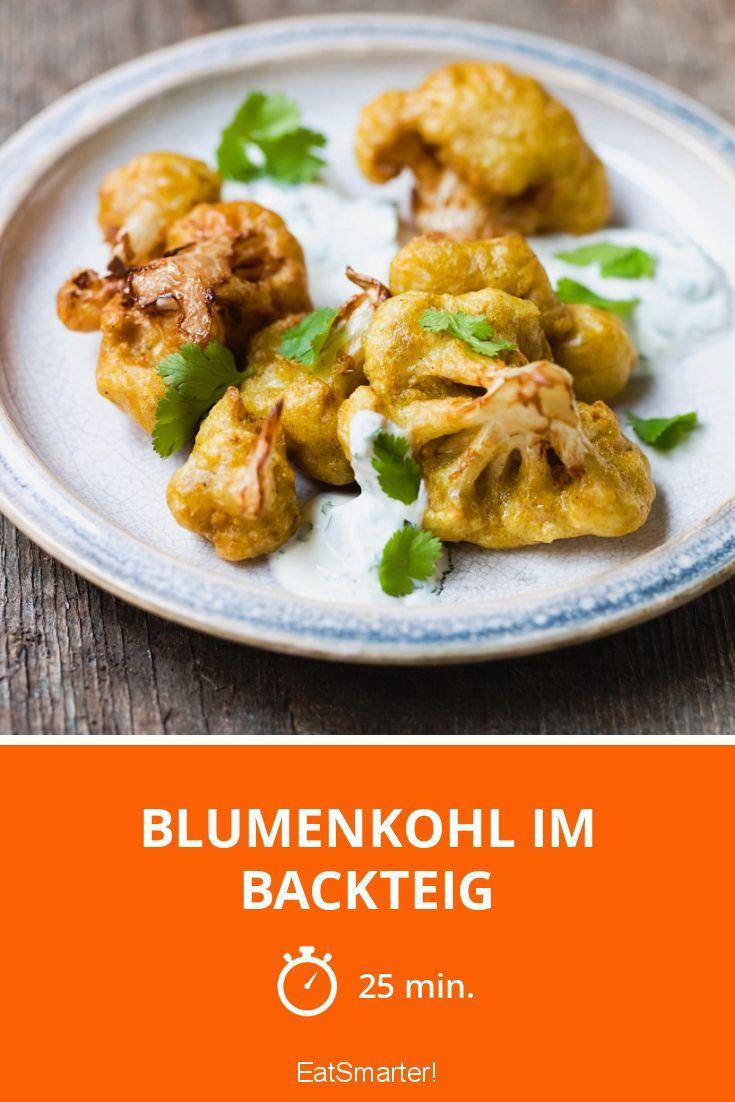 Blumenkohl im Backteig - NOMNOMNOM