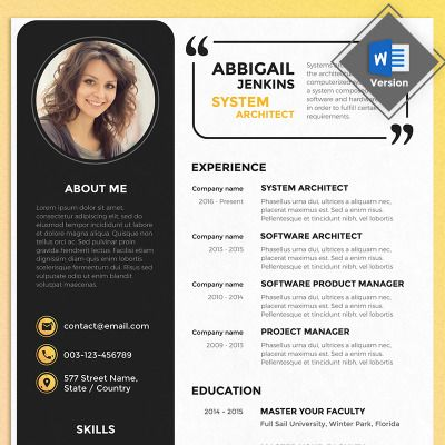 Software Architect Sample Resume 308 Best Typography Design Images On Pinterest