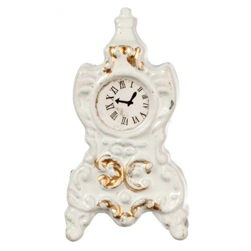 White+Mantel+Clock