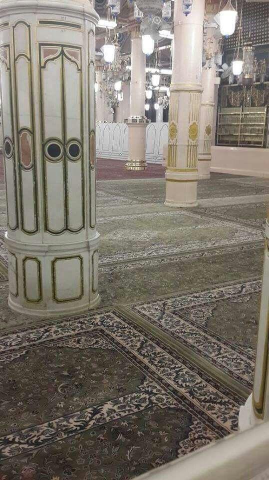 rawdah , masjid Nabawi Madinah