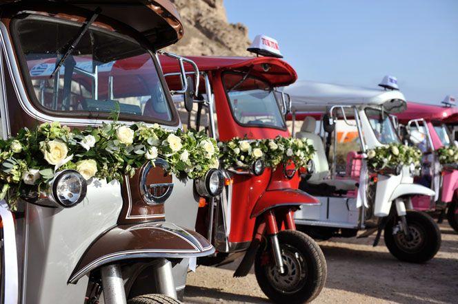 Tuk Tuk cars  www.andreaandmarcus.com & www.xoandrea.com