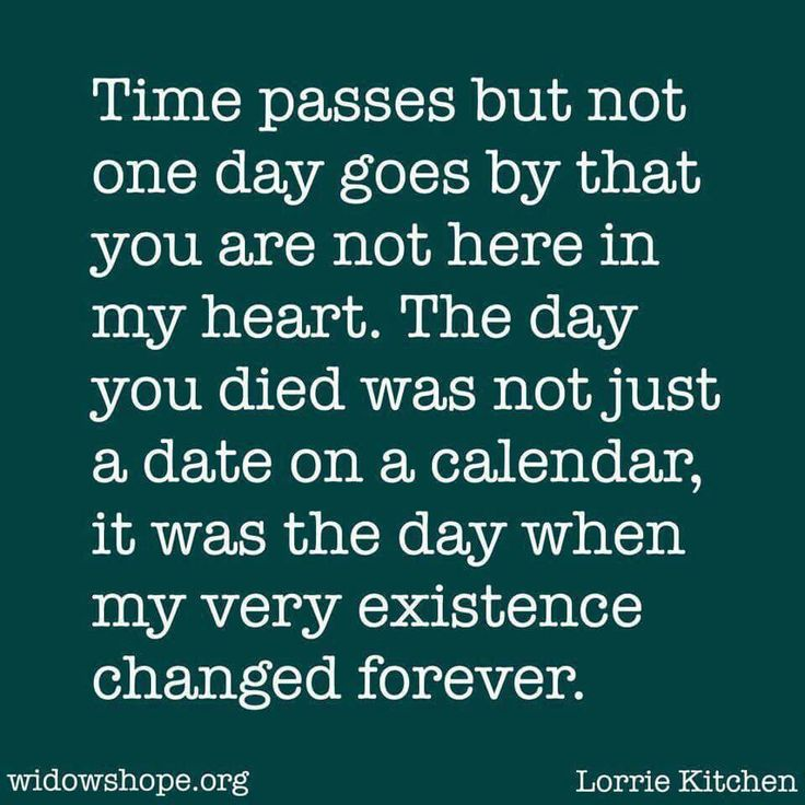 I still miss you so much. No matter how much time passes it still hurts.