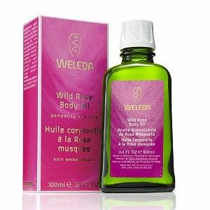 Weleda rose oil