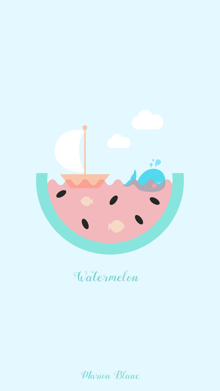 watermelon summer - Marion Blanc