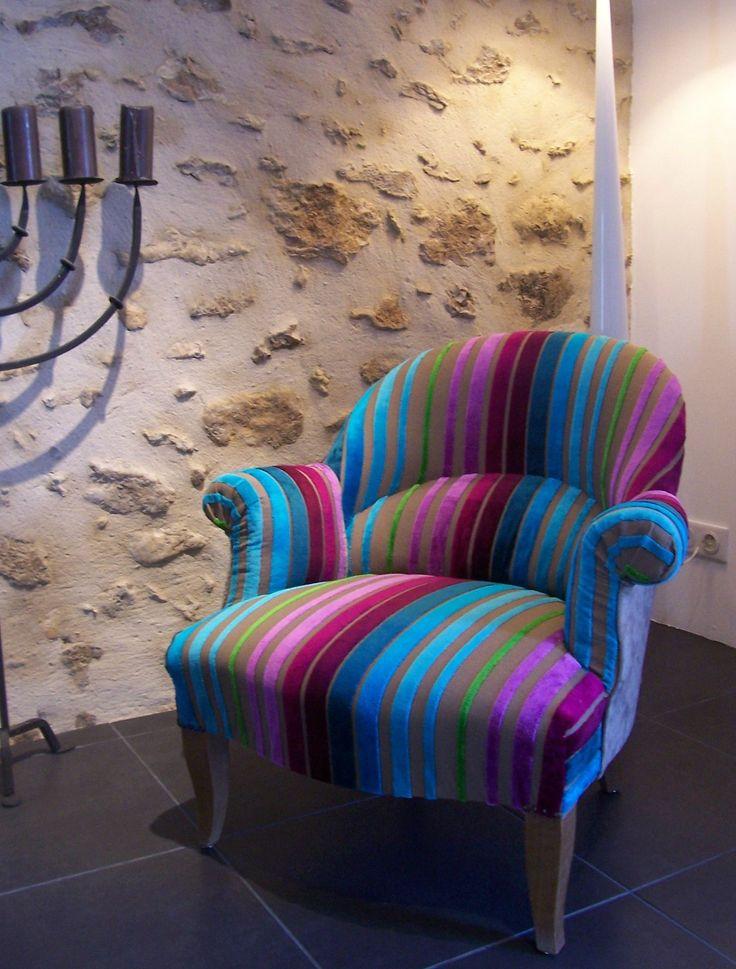 Les 25 meilleures id es concernant petit fauteuil crapaud sur pinterest fau - Fauteuil crapaud patchwork ...
