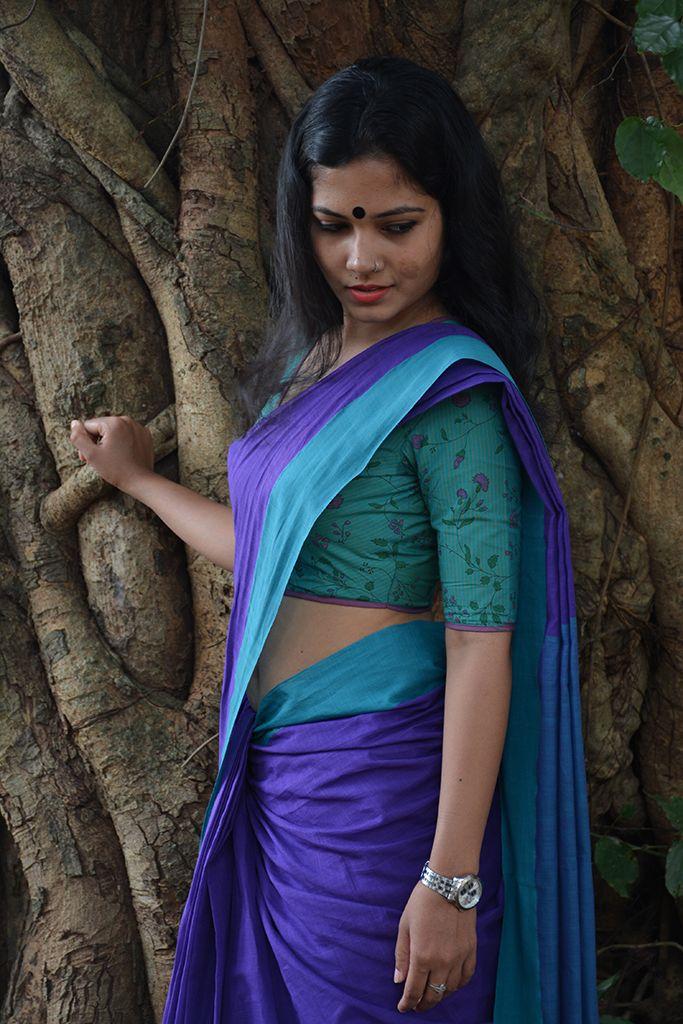 Illikurinji Kaithari Handloom Saree from Seamstress.co.in