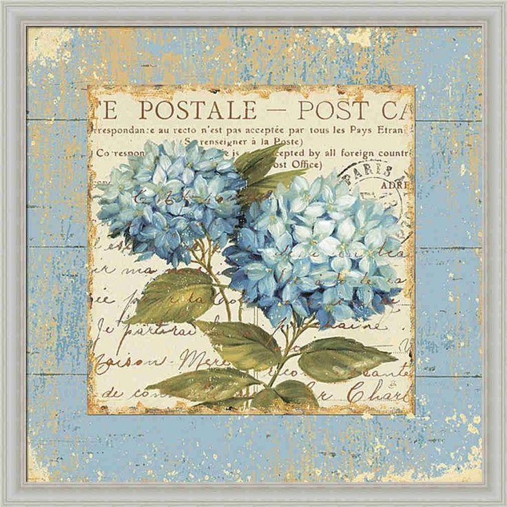florres azules.
