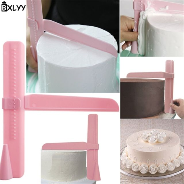 Christmas Smooth Tools Cake Smoother Cake Tools Cooking Tools Cake Decorating Tools Cupcake Pastry Fondant Kitchen Accessories^.