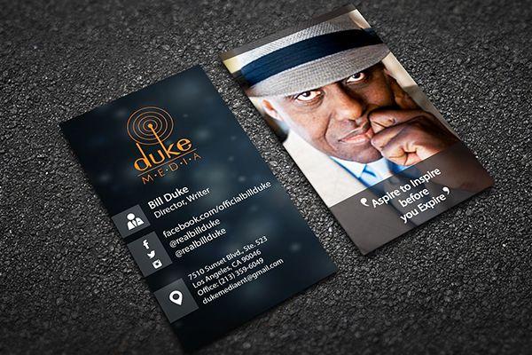 Card for Duke media.