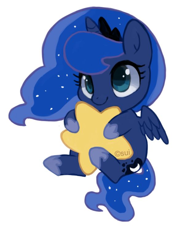 Luna Keychain by *suikuzu on deviantART Wittle Wuna Luna Princess Luna {heart breaks because spoilers}