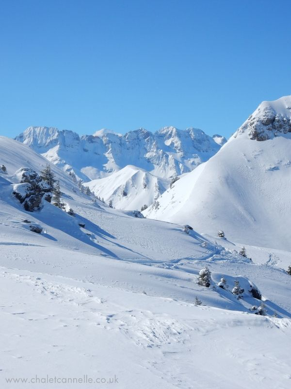 Dent Blanche from Chatel