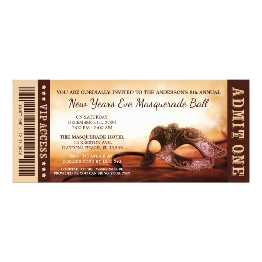 New Years Eve Party Invitations with nice invitation layout