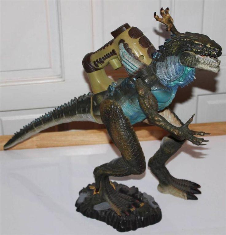 GODZILLA Electronic Battle Action 8 Heavy Hitter Action Figure 1998 Toy Biz #ToyBiz